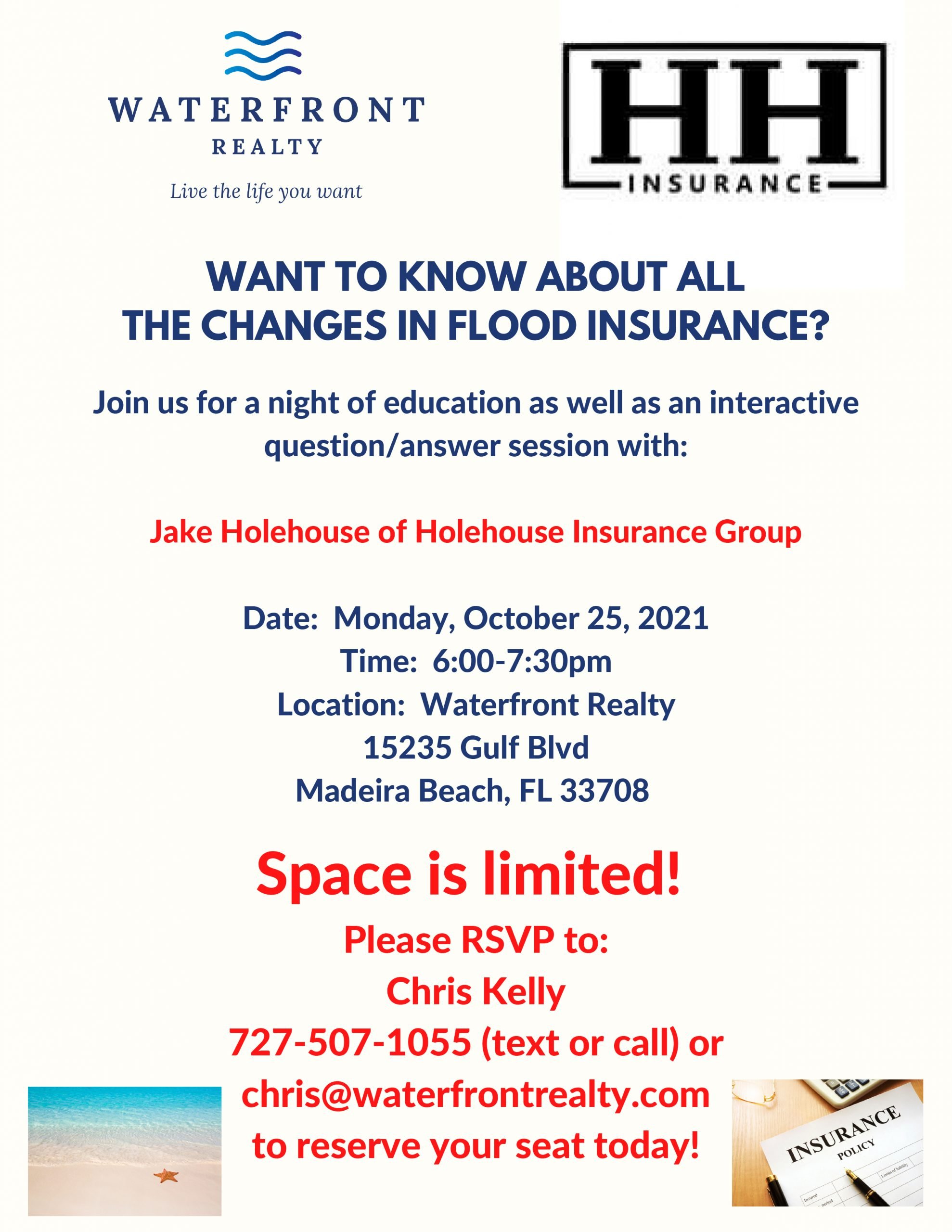 Flood Insurance Flyer