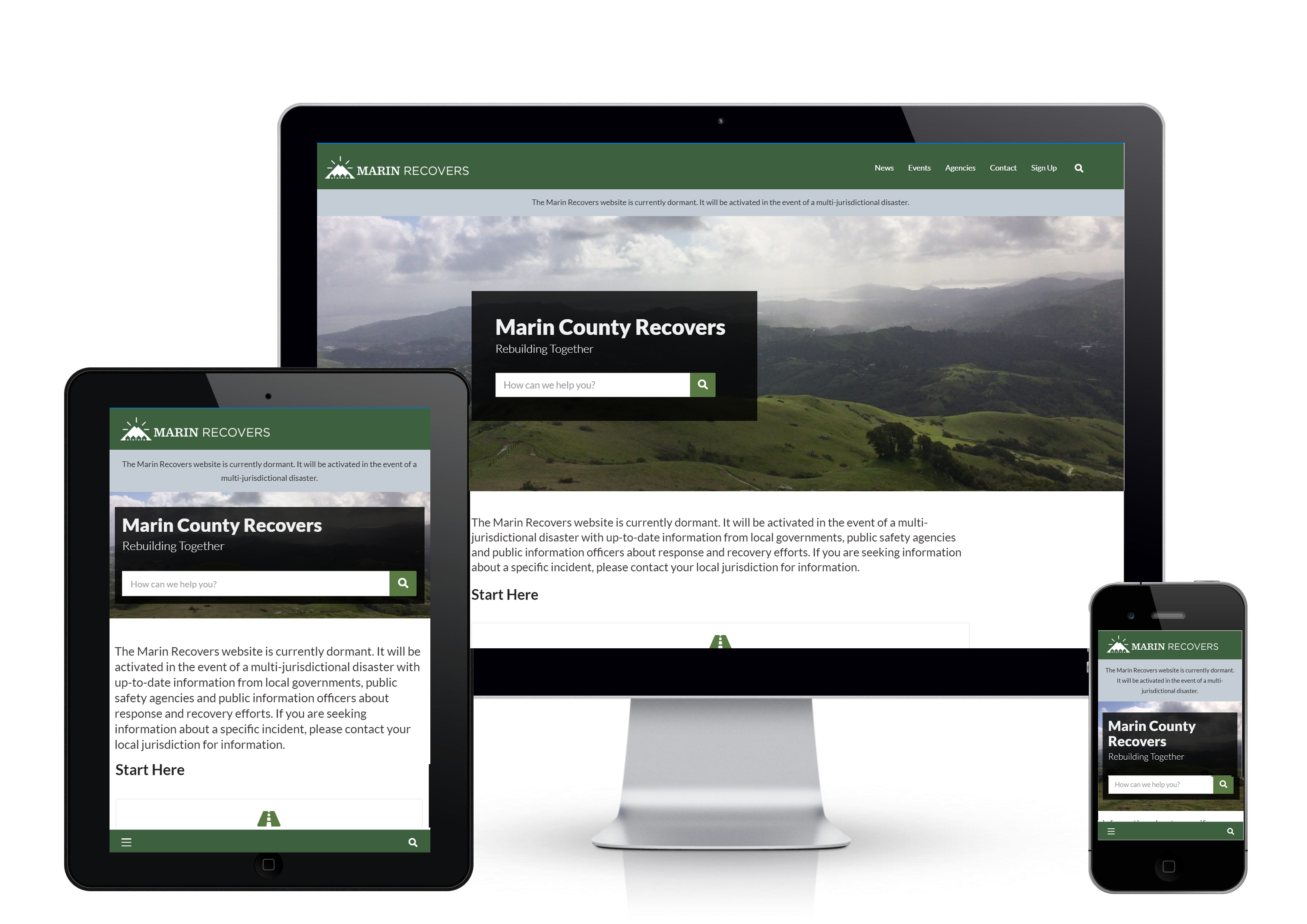 multi device homepage