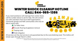 Crisis Cleanup Flyer