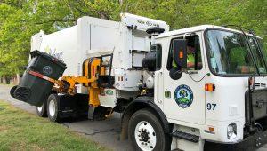 Sidearm Garbage Truck