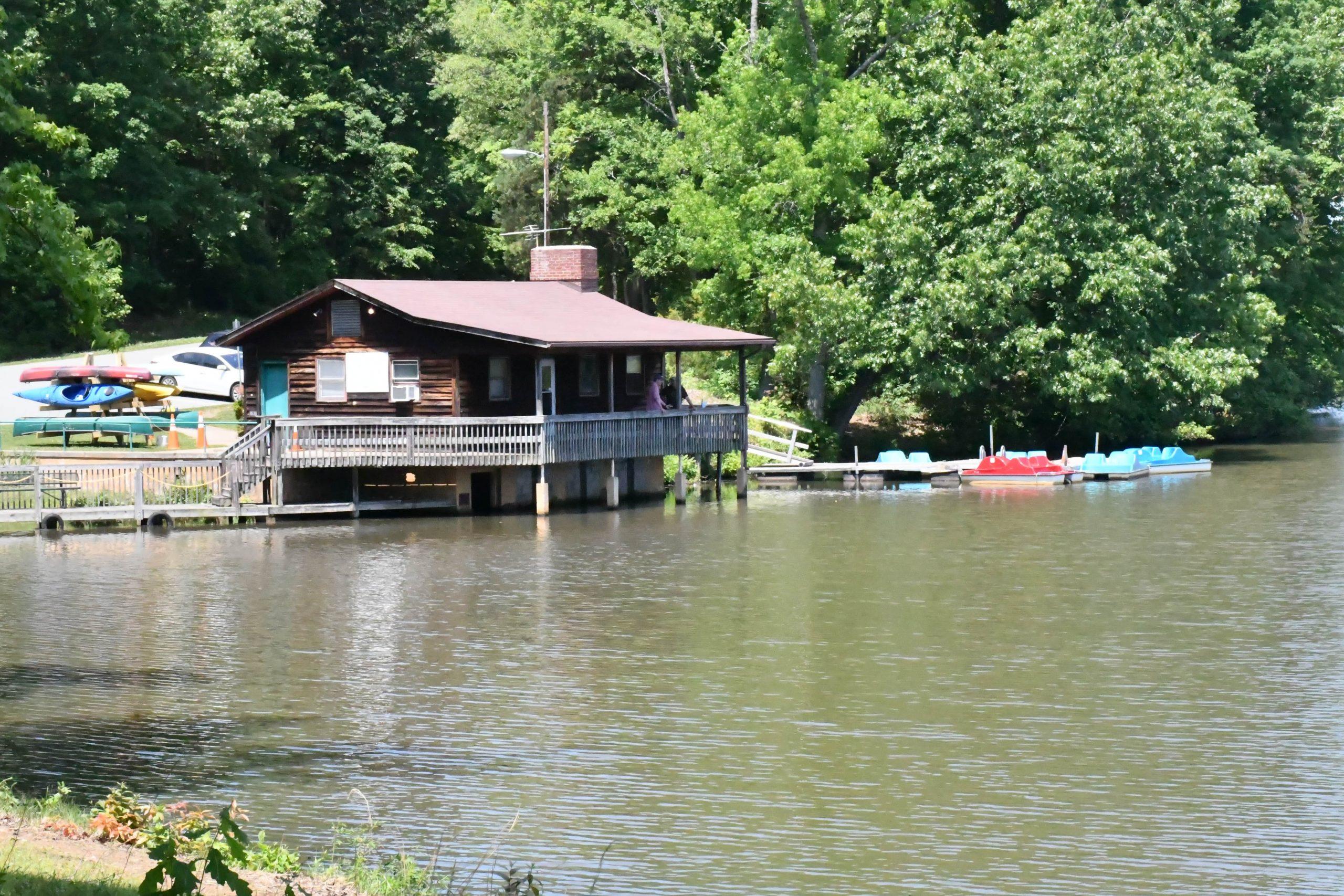 Lake Michael boat house