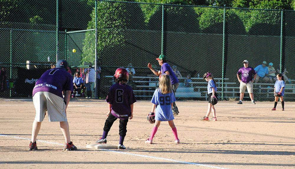 Youth Softball Game