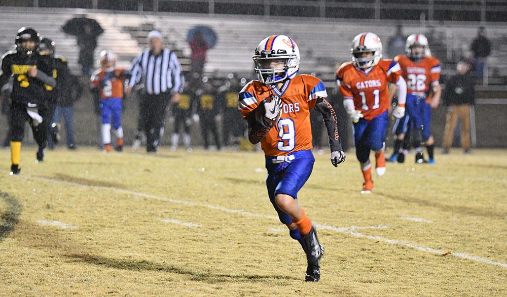 Youth Football Runner