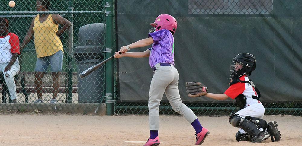 Youth Softball Batter