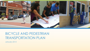 Bike and Ped Plan Cover