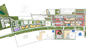 Vision Map for Downtown Mebane