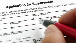 Apply for employment