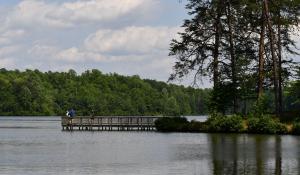 pier at Lake Michael