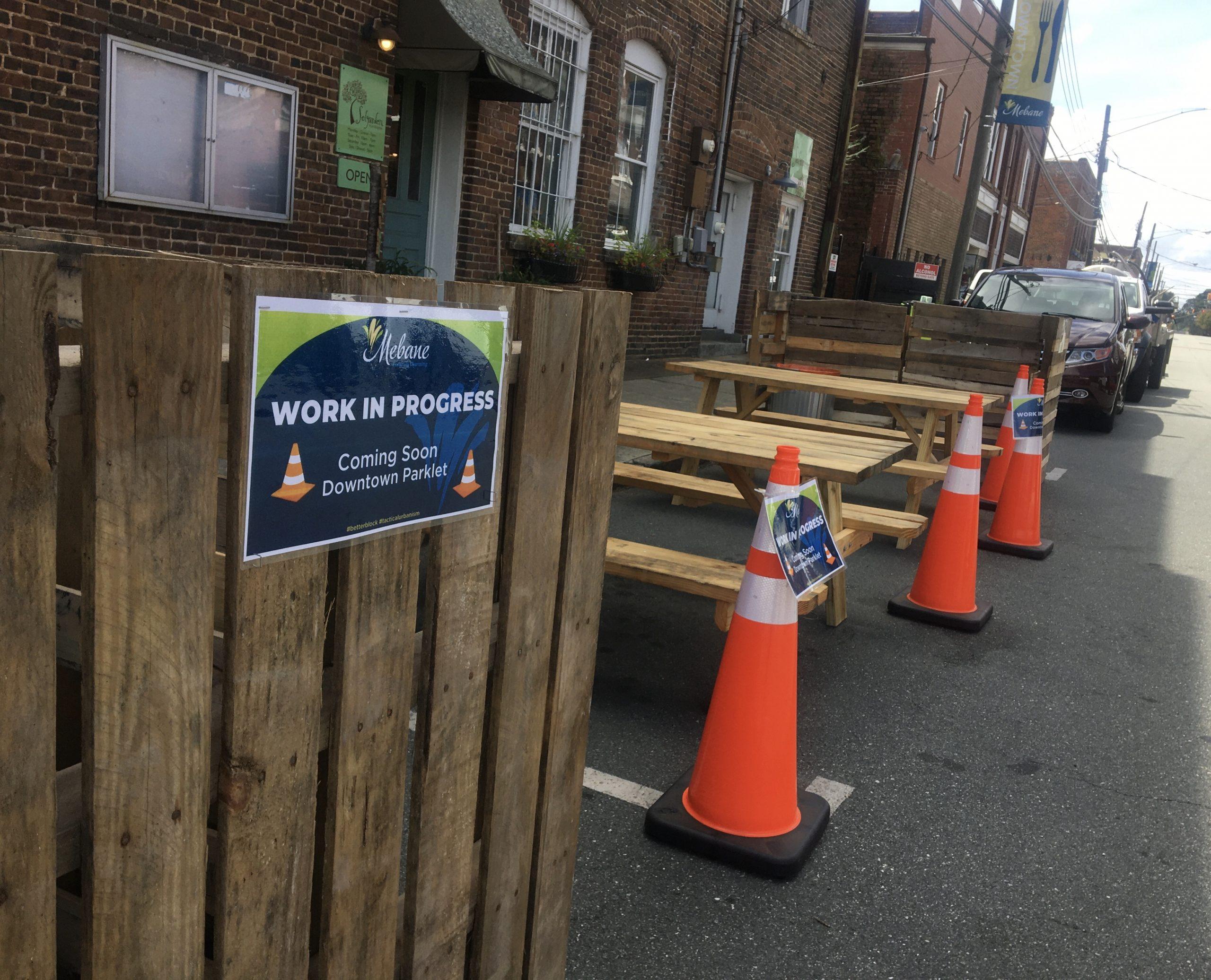 Parklet - Work in Progress