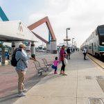 Montclair Transcenter Metrolink Train 1
