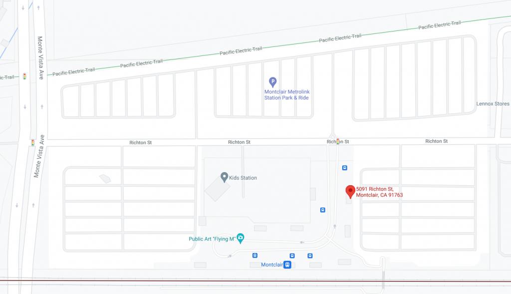 Transcenter Map
