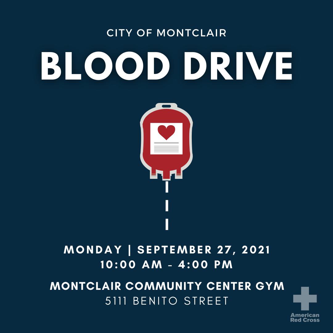 September Blood Drive Flyer