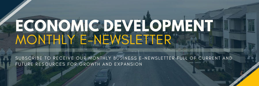EconDev E-Newsletter Header