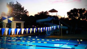 Makos Flag at Sundown