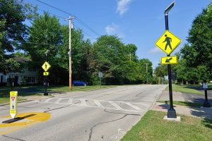 Cooper Rd LED Ped Crossing