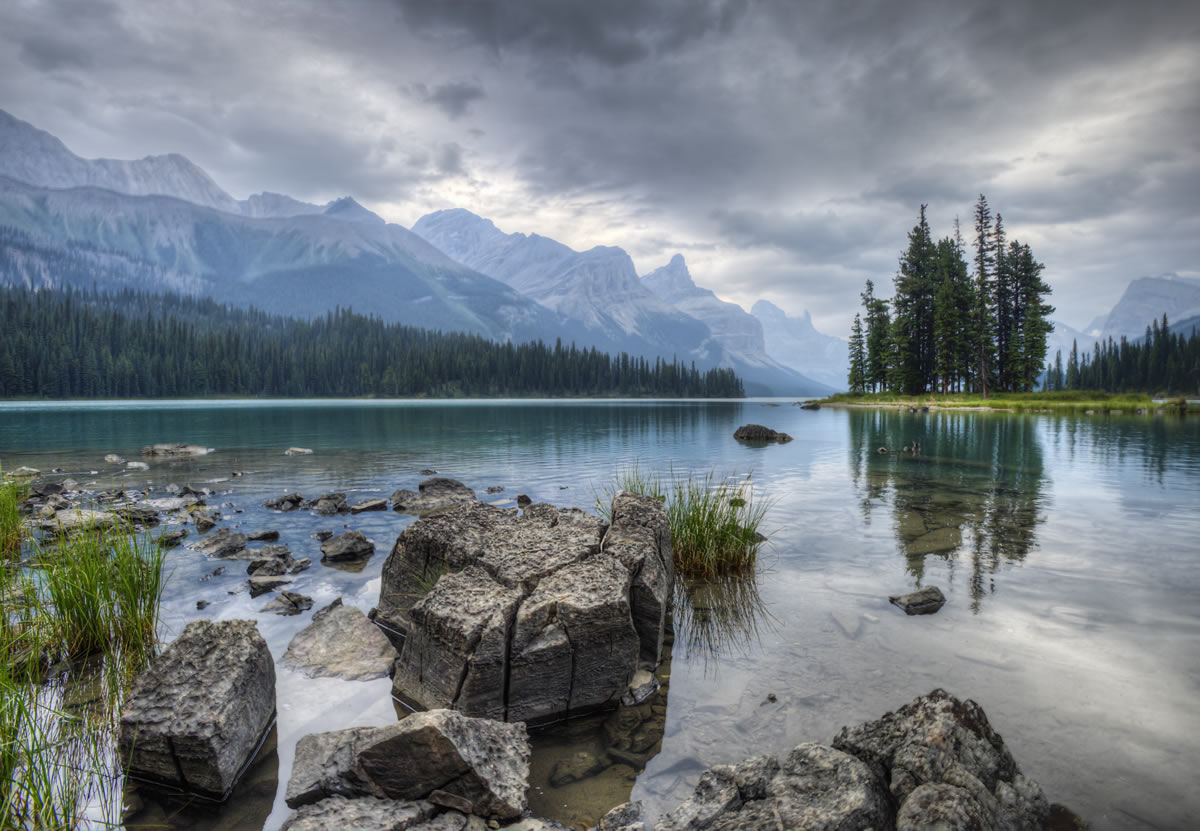 Lake Maligne Fred Haaser 2015 Adult