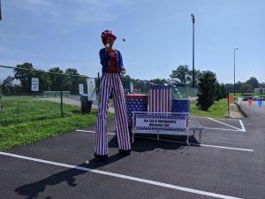 2020 Parade Stilt Juggler