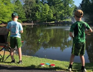 Fishing Contest Boys