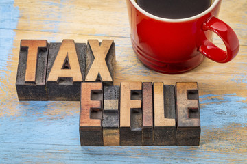 Tax E-File Image