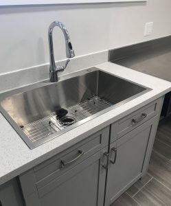 Terwilliger Lodge Kitchen Sink