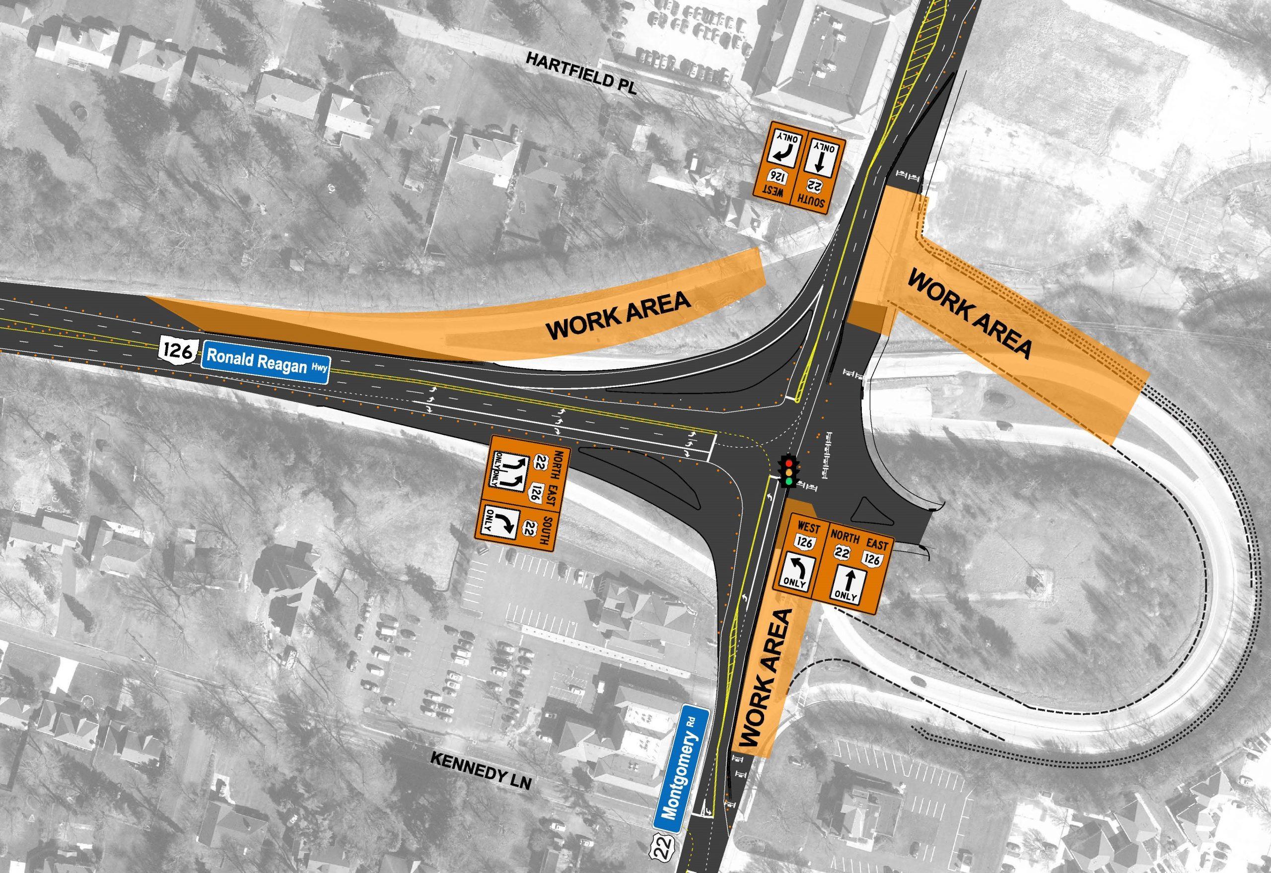 Phase 4 roundabout
