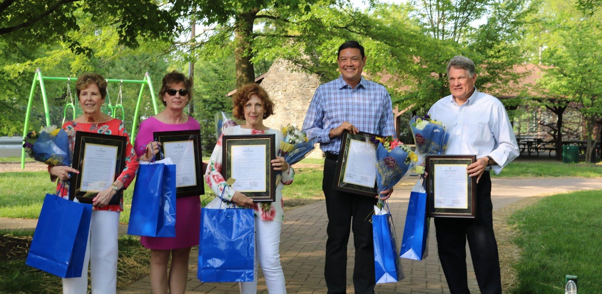 2021 Volunteer Walk of Fame