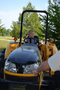 Touch a Truck Tractor
