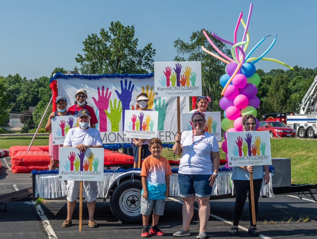 2020 Diversity and Inclusion Reverse Parade Entry - Photo by Fred Haaser