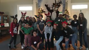 Holiday in the Village Volunteers