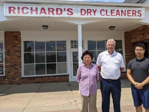 Richards Dry Cleaners Grant Awarded