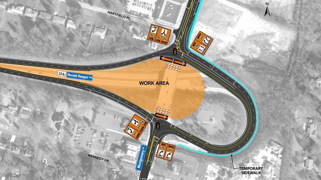 Roundabout Construction Phase 2