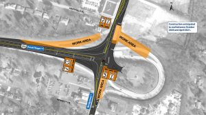 Roundabout Construction Phase 4