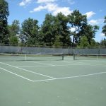Pfeiffer tennis courts