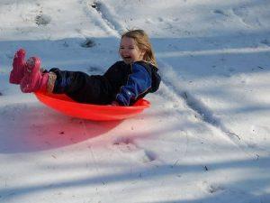 Montgomery Park sledding