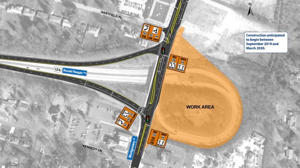 Roundabout Construction Phase 1