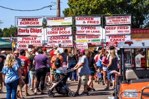 Celebrate Munford, Food Booths