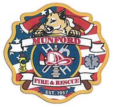 Munford Fire Department Logo