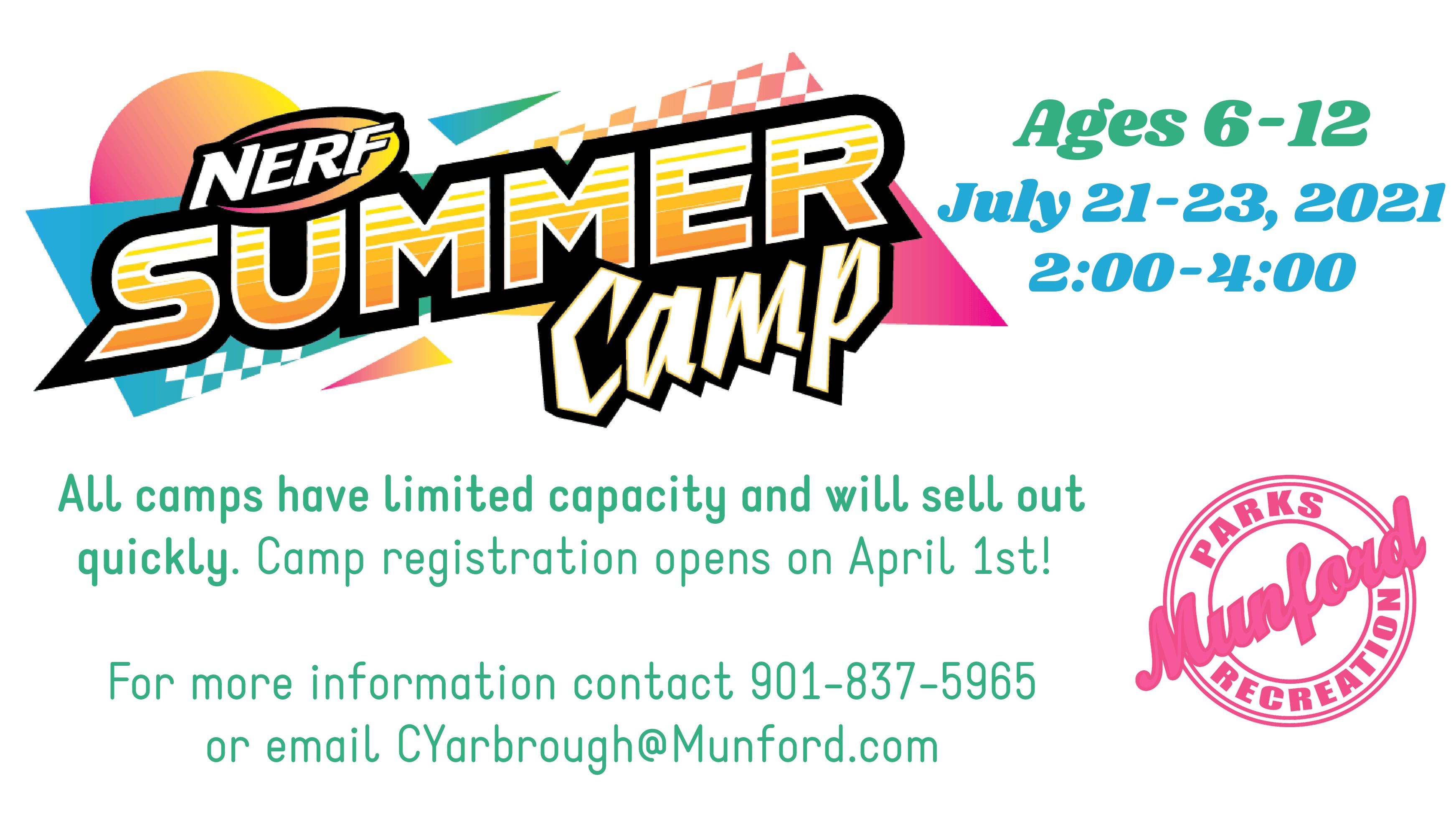 Nerf Summer Camp