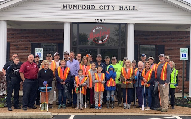 Munford Clean up 2021