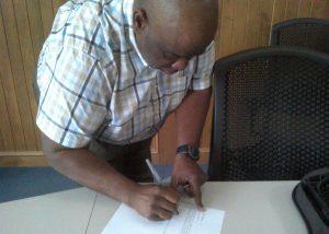 Watson signing Oath