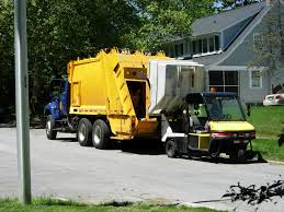 Public Works Department Refuse Truck
