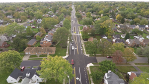 Shroyer Rd Aerial