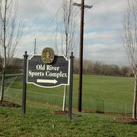 Old River Sign