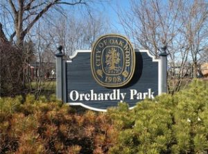 Orchardly Park Sign