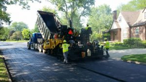 Asphalt Resurfacing 2018