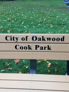 Cook Park Bench