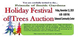 holiday festival of trees invitation
