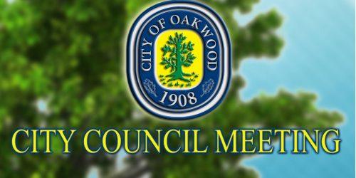 Oakwood City Council Meeting