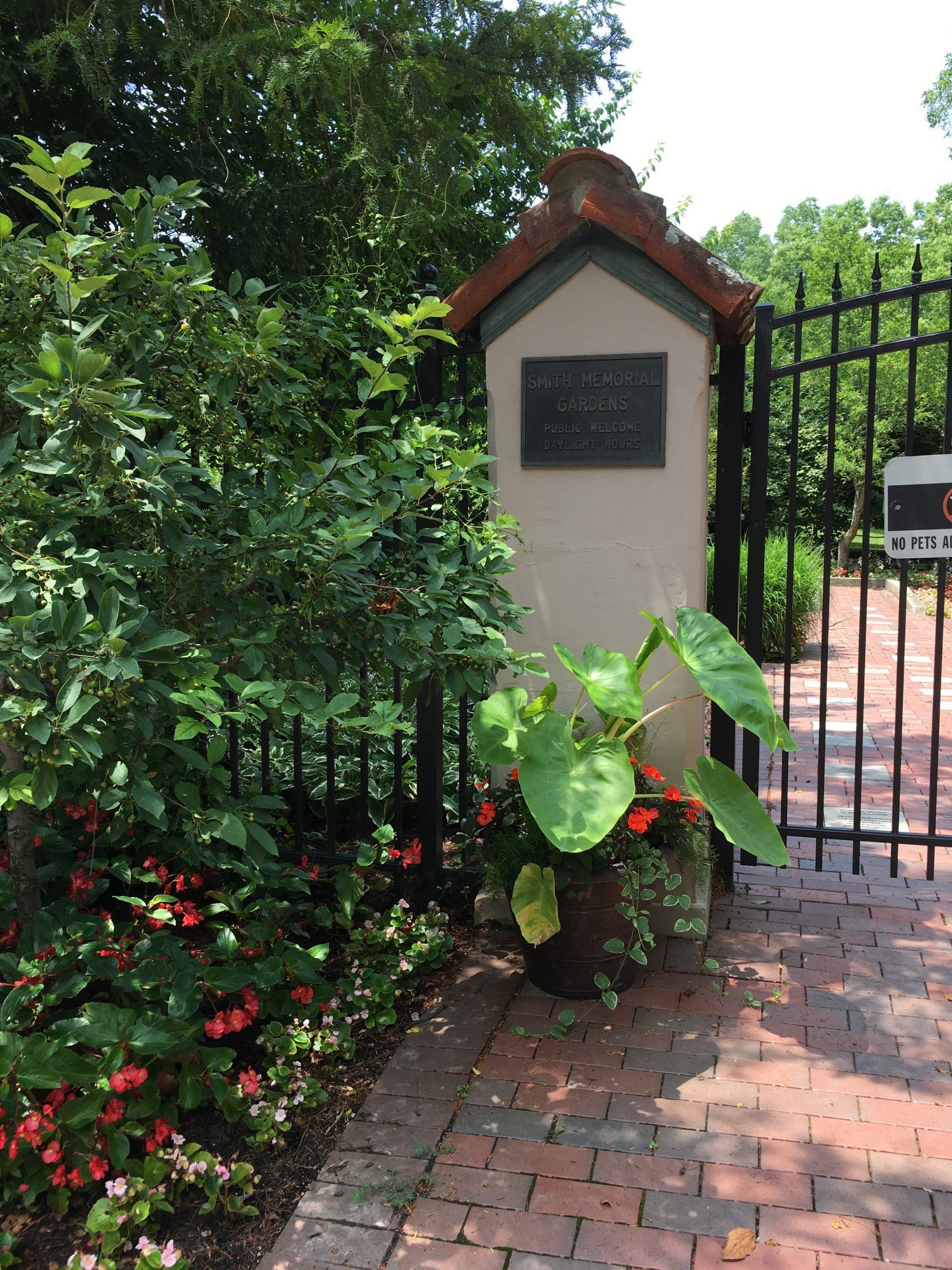 Smith Gardens Entrance