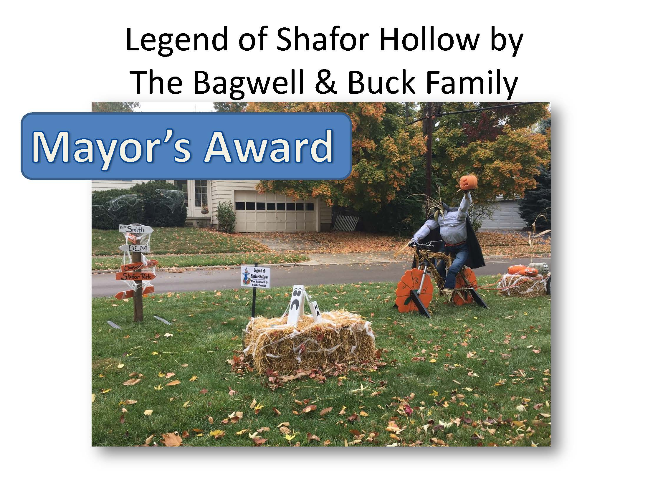 Winners Scarecrow Row 2020_Mayor